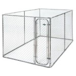 Dog Kennel Fencing Bronze